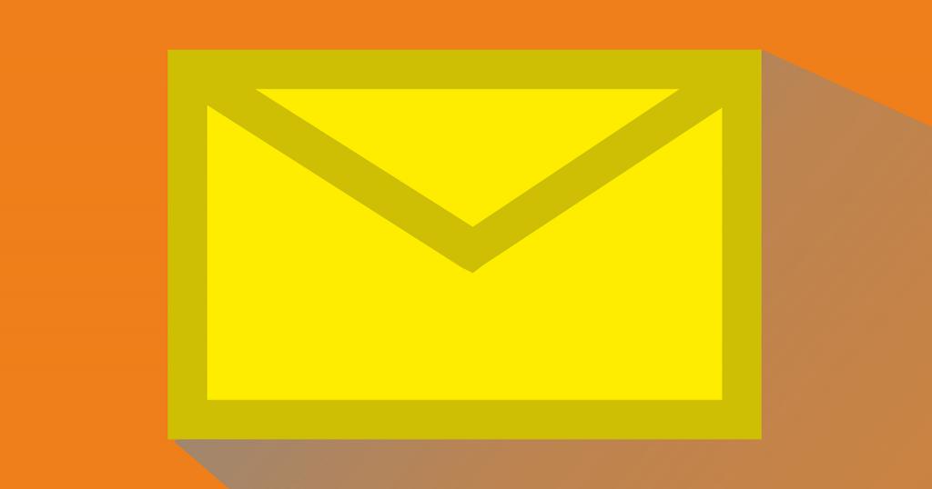 メールのアイコン